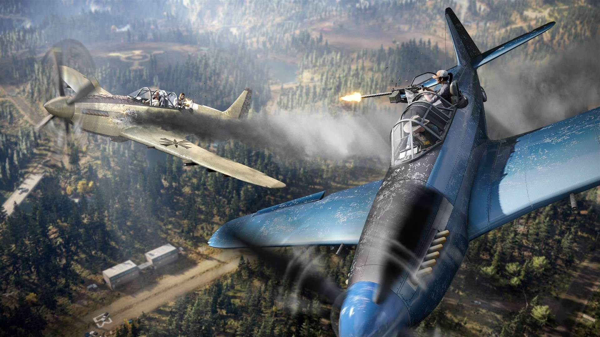 Prepare for lift-off with these Far Cry 5 launch screens