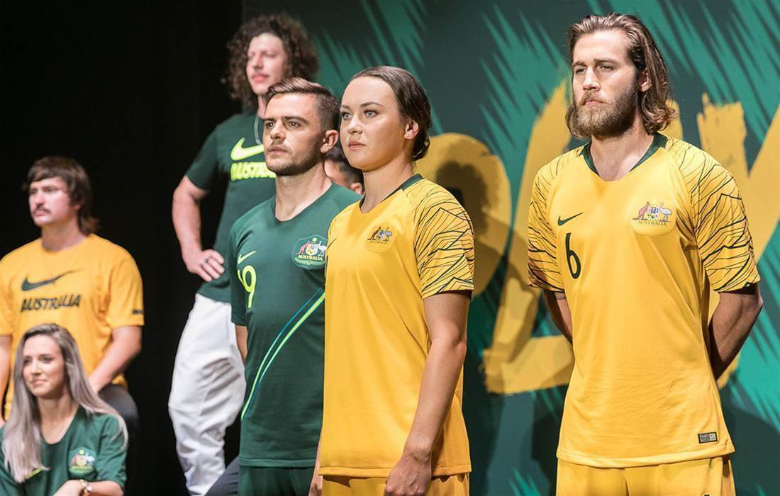 Gallery: Socceroos launch new kit at exclusive event