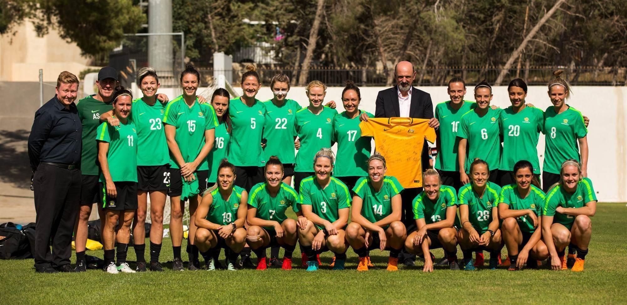 Gallery: Matildas Asian Cup final training pics