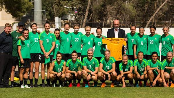 Gallery: Matildas Asian Cup final training pics