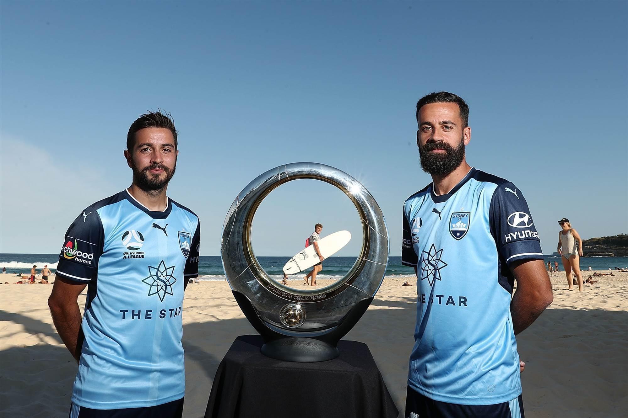 Pic special: Sky Blues & 'toilet seat' at Bondi Beach
