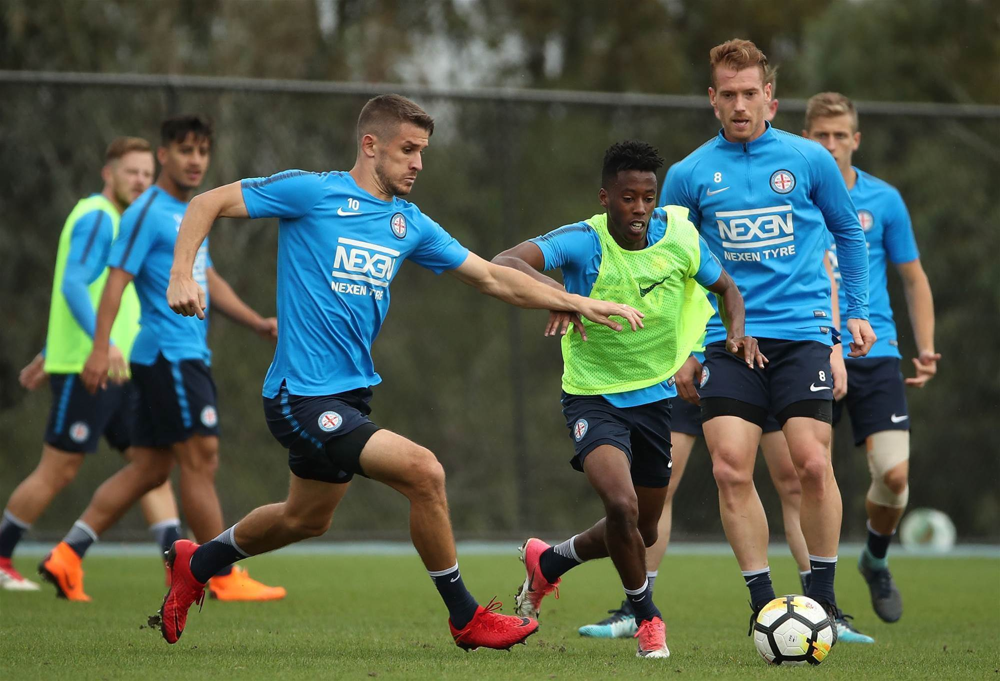Melbourne City training pic special