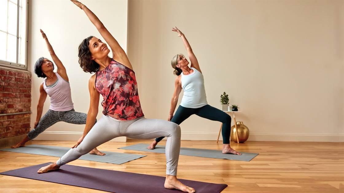 4 Yoga Moves To Feel Calmer