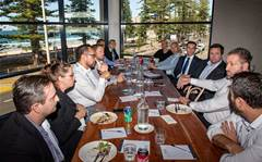 Which channel leaders attended CRN Pipeline Sydney?