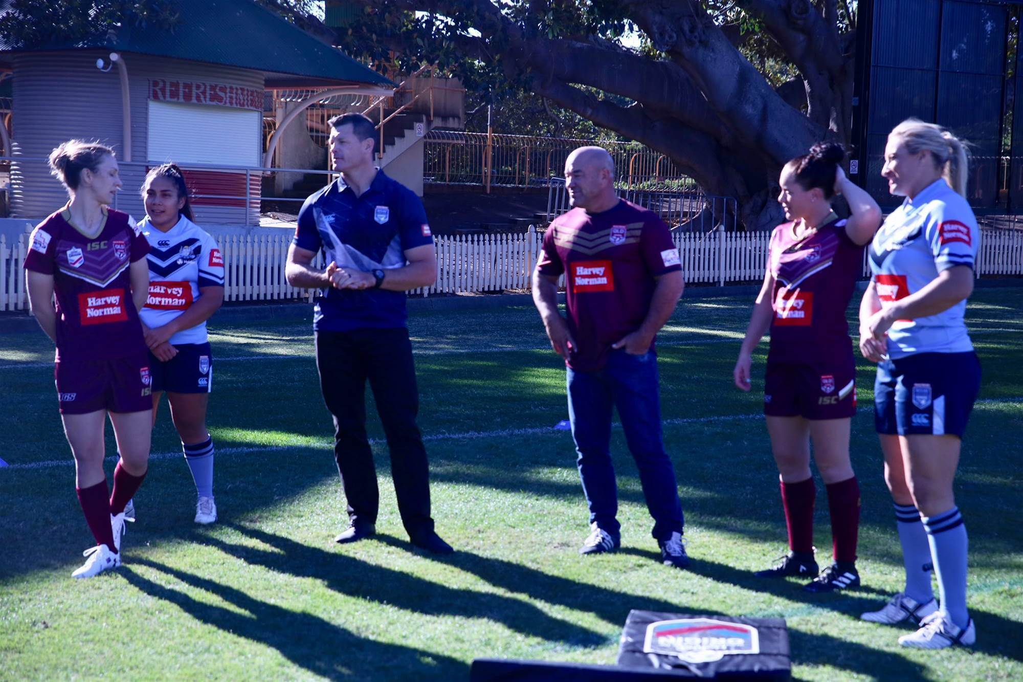Behind the scenes: Women's State of Origin media opportunity