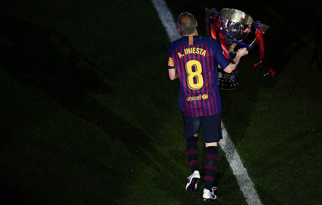 Andres Iniesta's spine-tingling Barcelona farewell