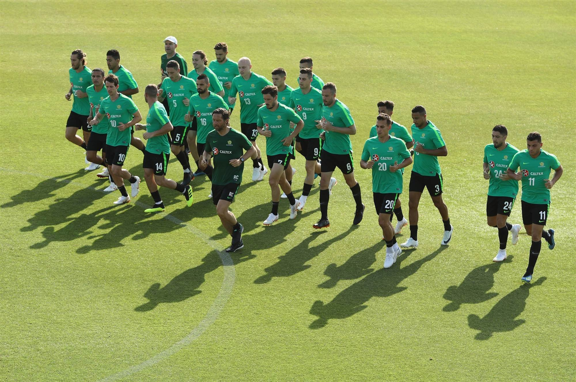 Gallery: Socceroos training pics