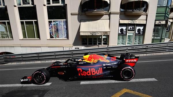 Ricciardo tops Monaco practice