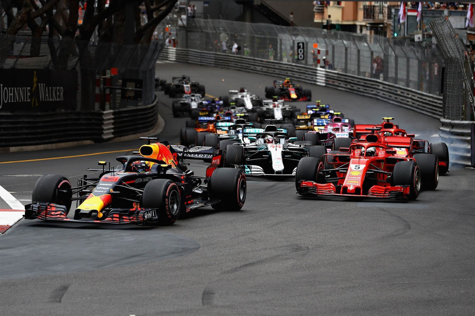 Pic Gallery: Monaco F1