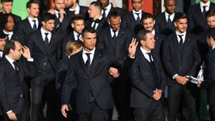 Gallery: Messi and Ronaldo arrive in Russia