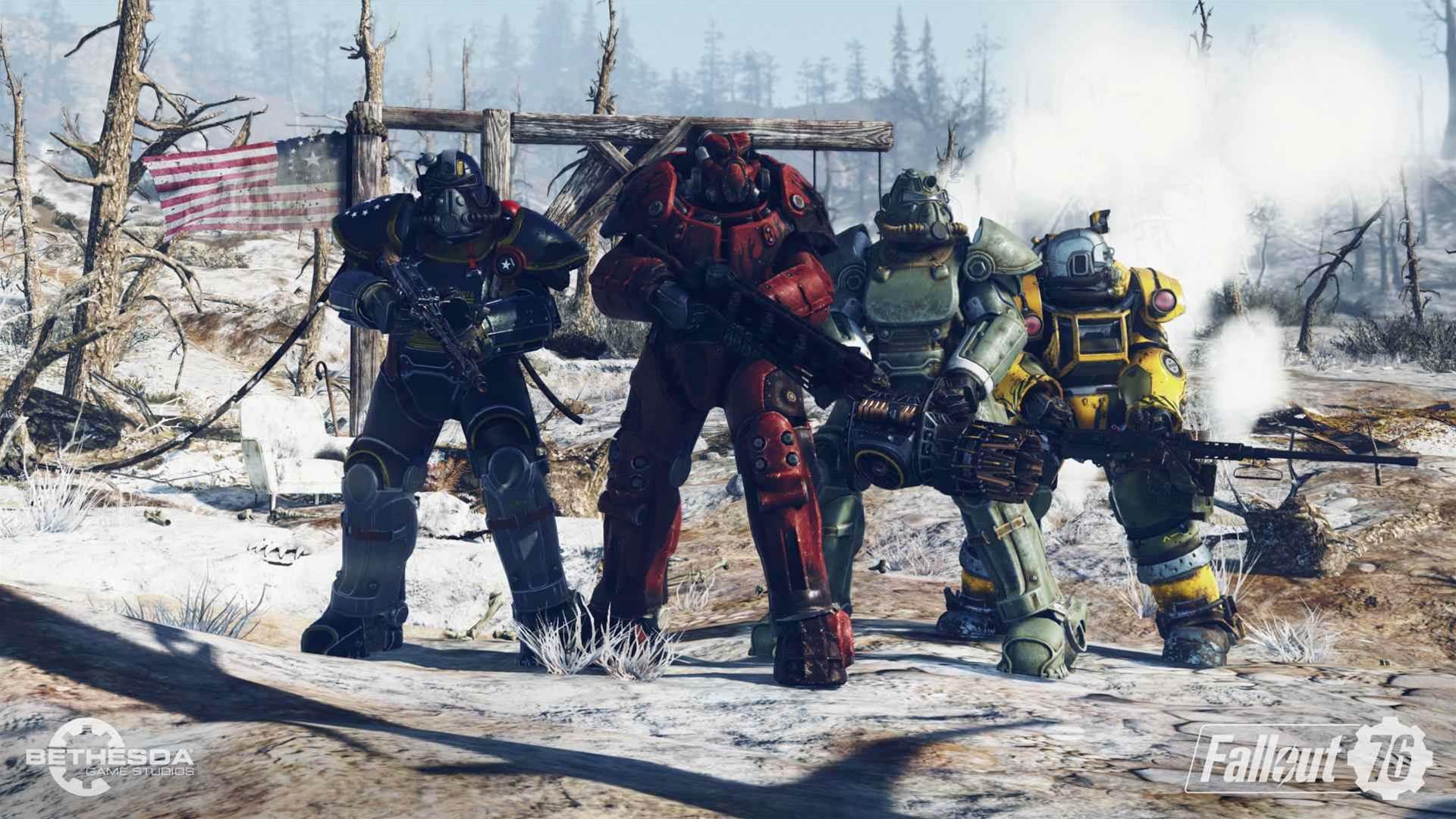 Fallout 76 E3 2018 screens