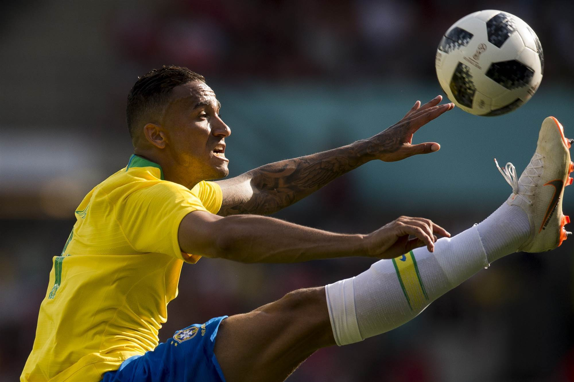 Pic special: Brazil red hot in Vienna warm-up