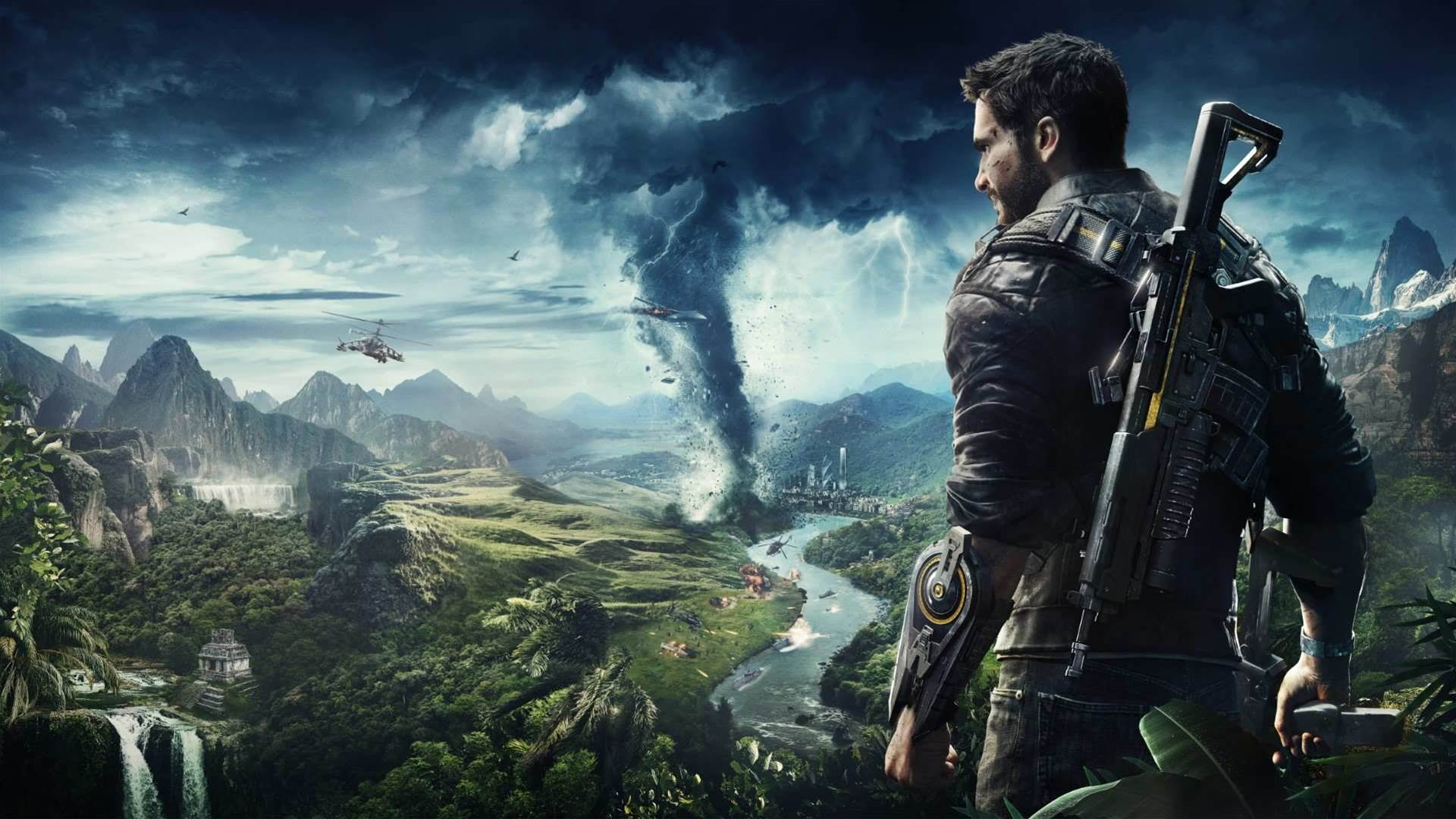 Just Cause 4 E3 2018 screens