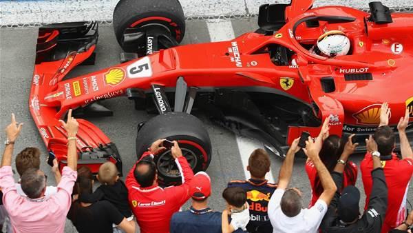 Vettel dominant in Canada F1
