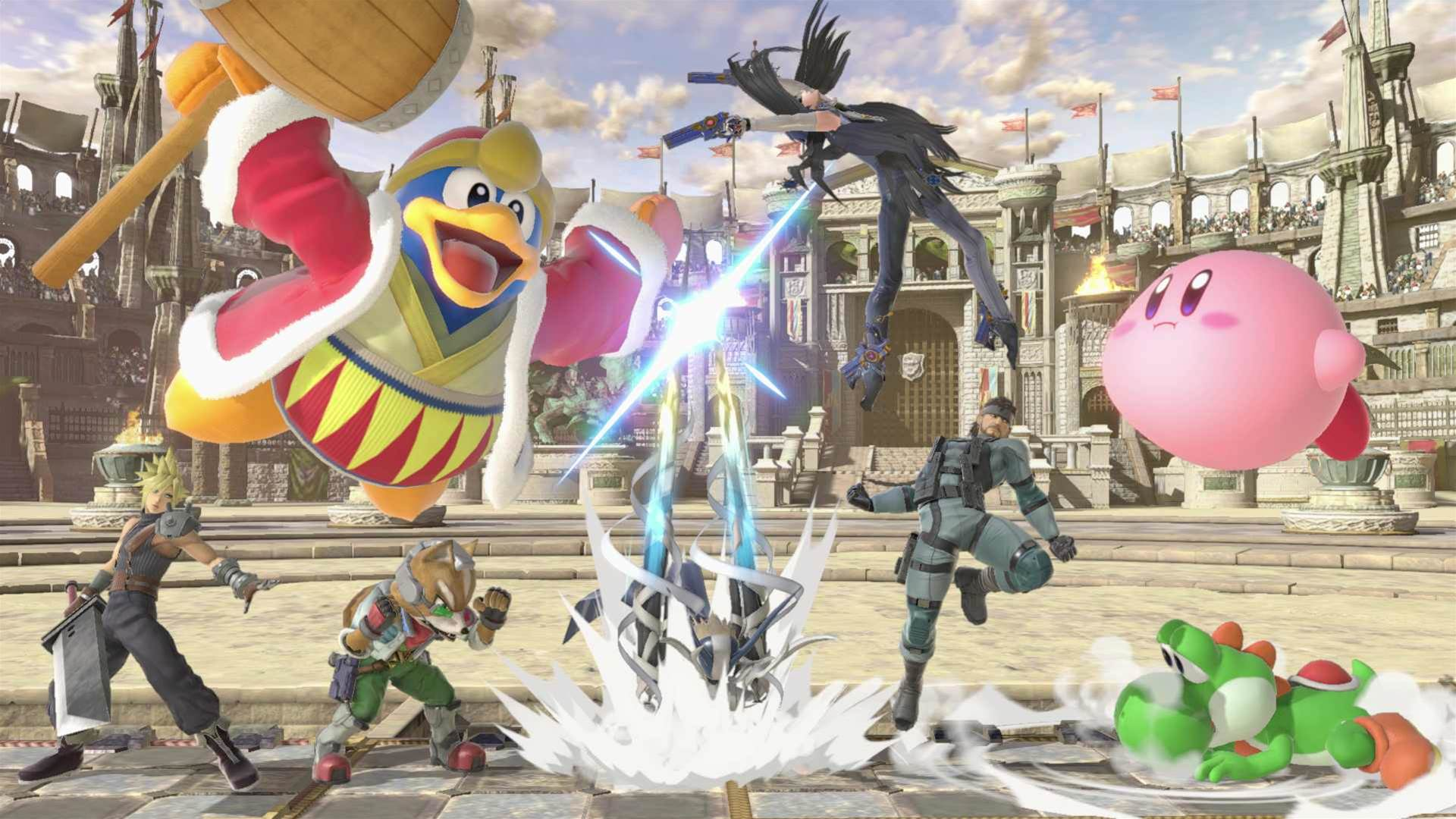 Super Smash Bros. Ultimate E3 2018 screens