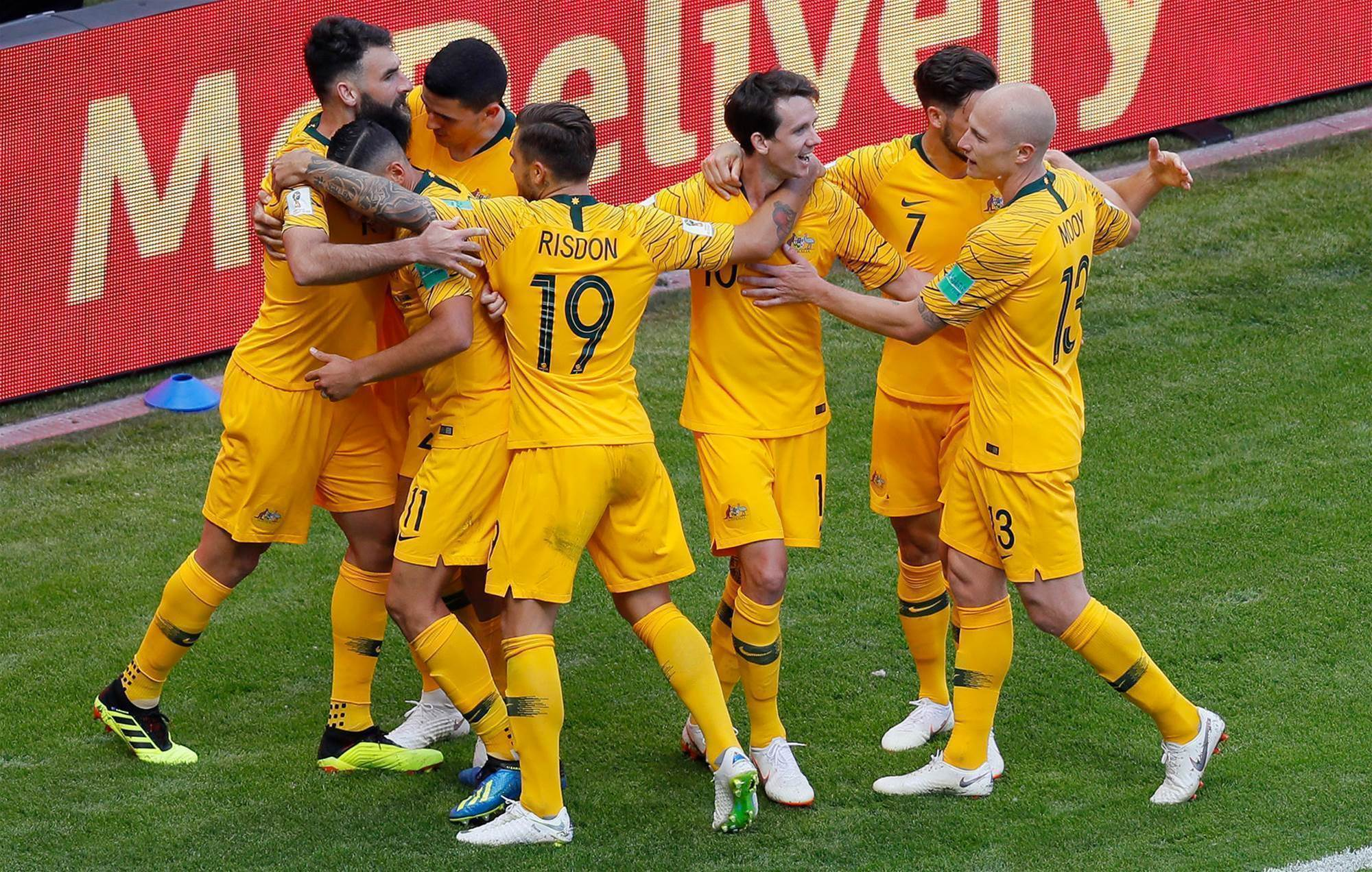 Gallery: Aussie kit makes World Cup debut