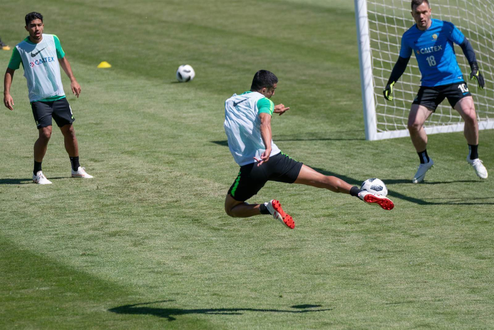 Pic special: The Socceroos battling for a start