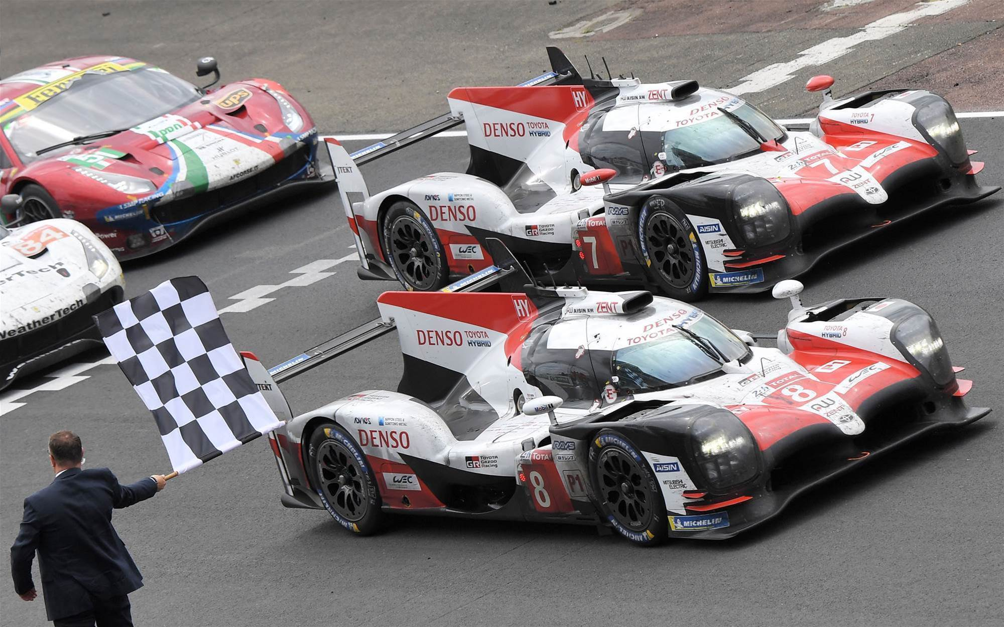Alonso and Toyota win le Mans