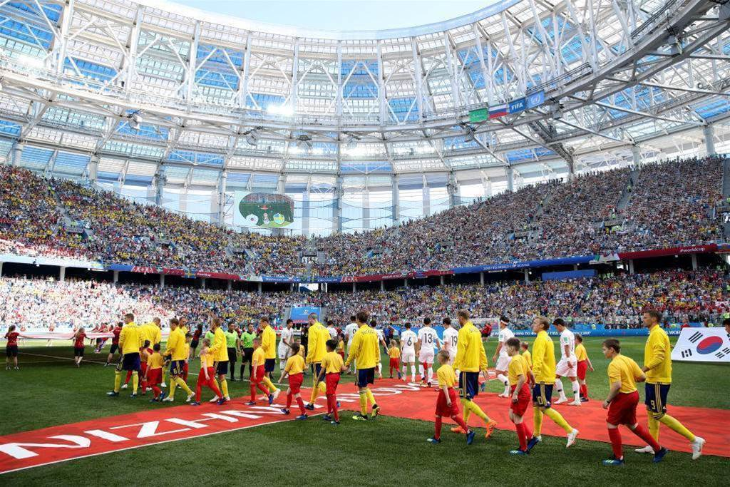Sweden edge South Korea - in pics