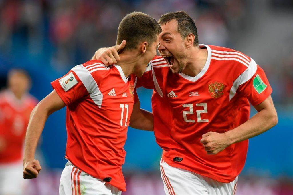 Russia v Egypt pic special