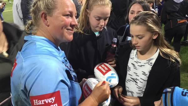 From the sidelines: Women's State of Origin