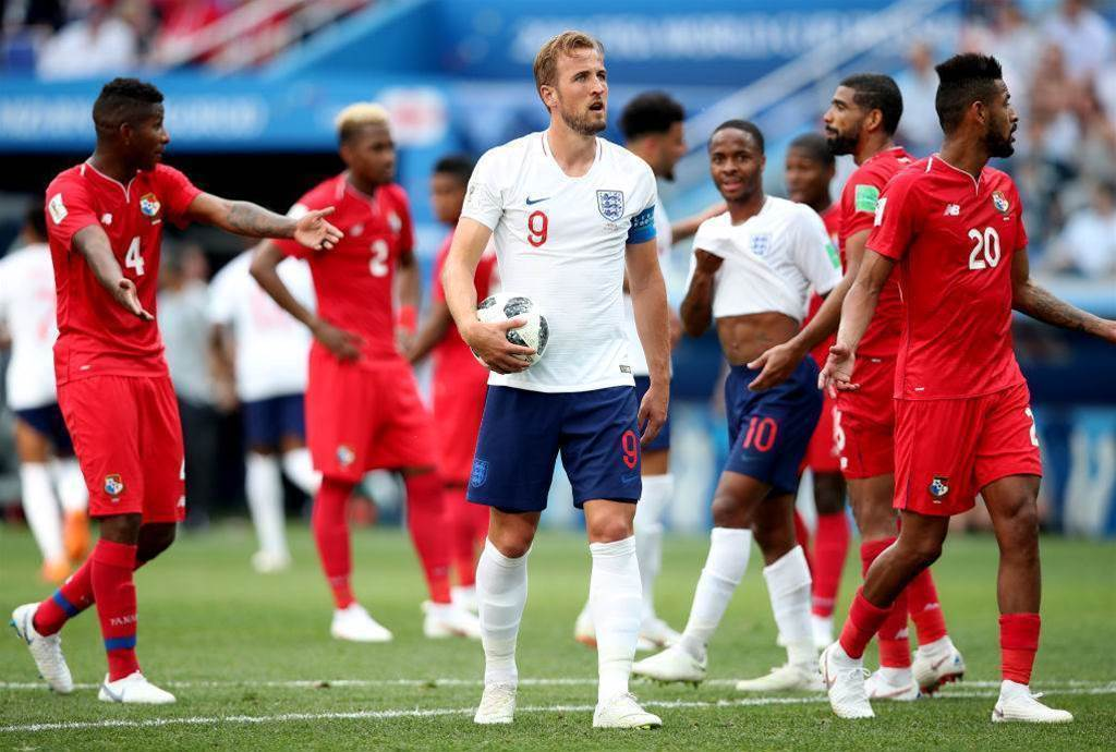 Pic special: England thrash Panama as Kane takes home the match ball
