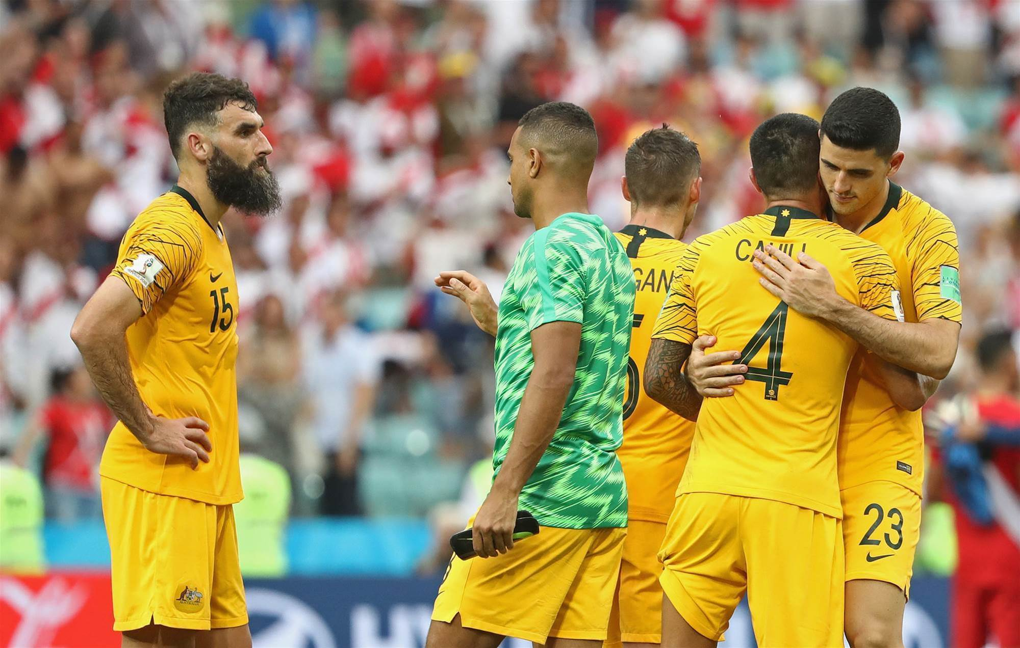Gallery: Australia's World Cup run ends