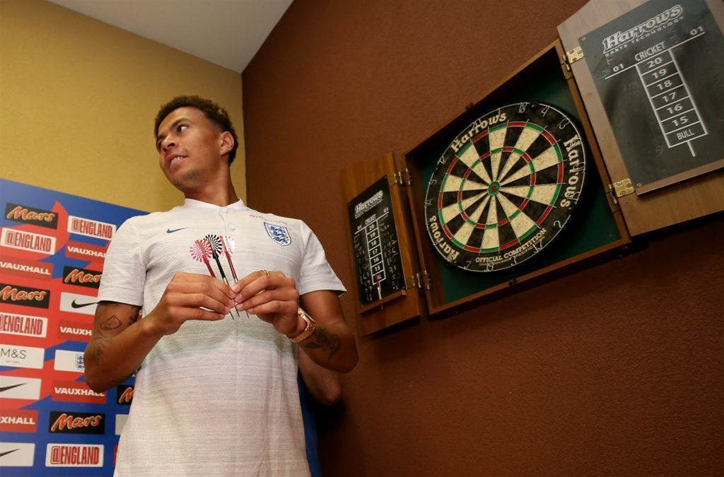 At home with the England squad - in pics