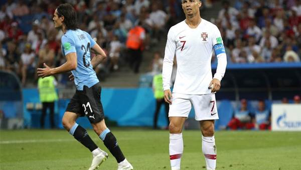 Pic special: Ronaldo's Portugal bow out to Uruguay