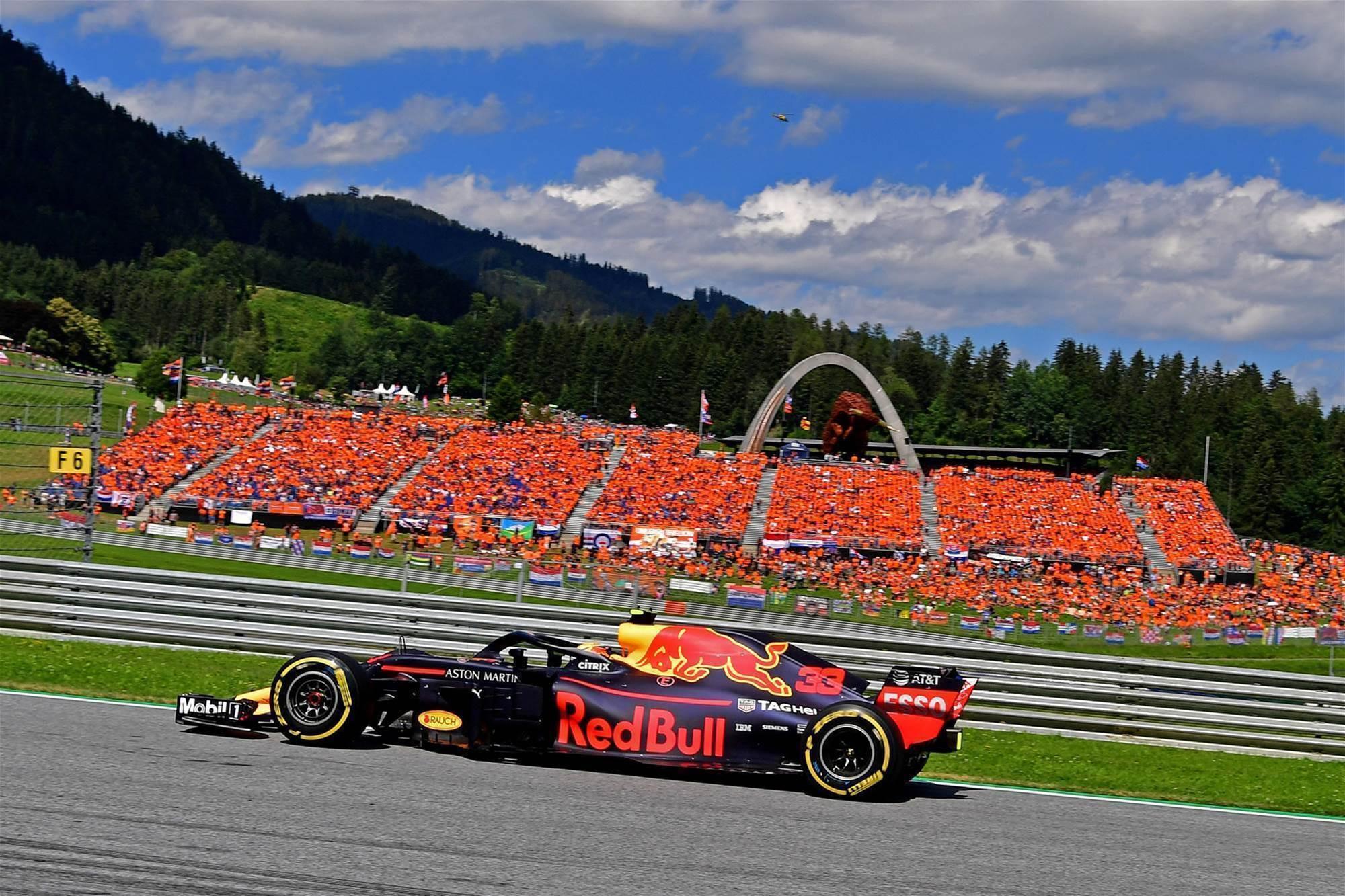 Verstappen wins in Austria