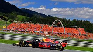 Verstappen wins in Austria