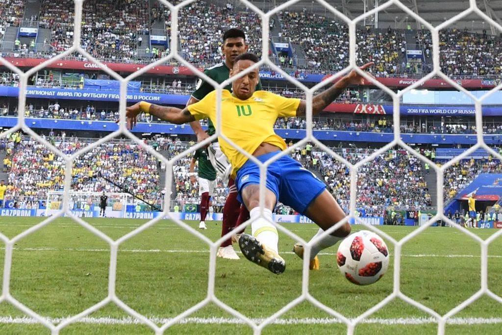 Pic special: Brazil edge past Mexico in Samara