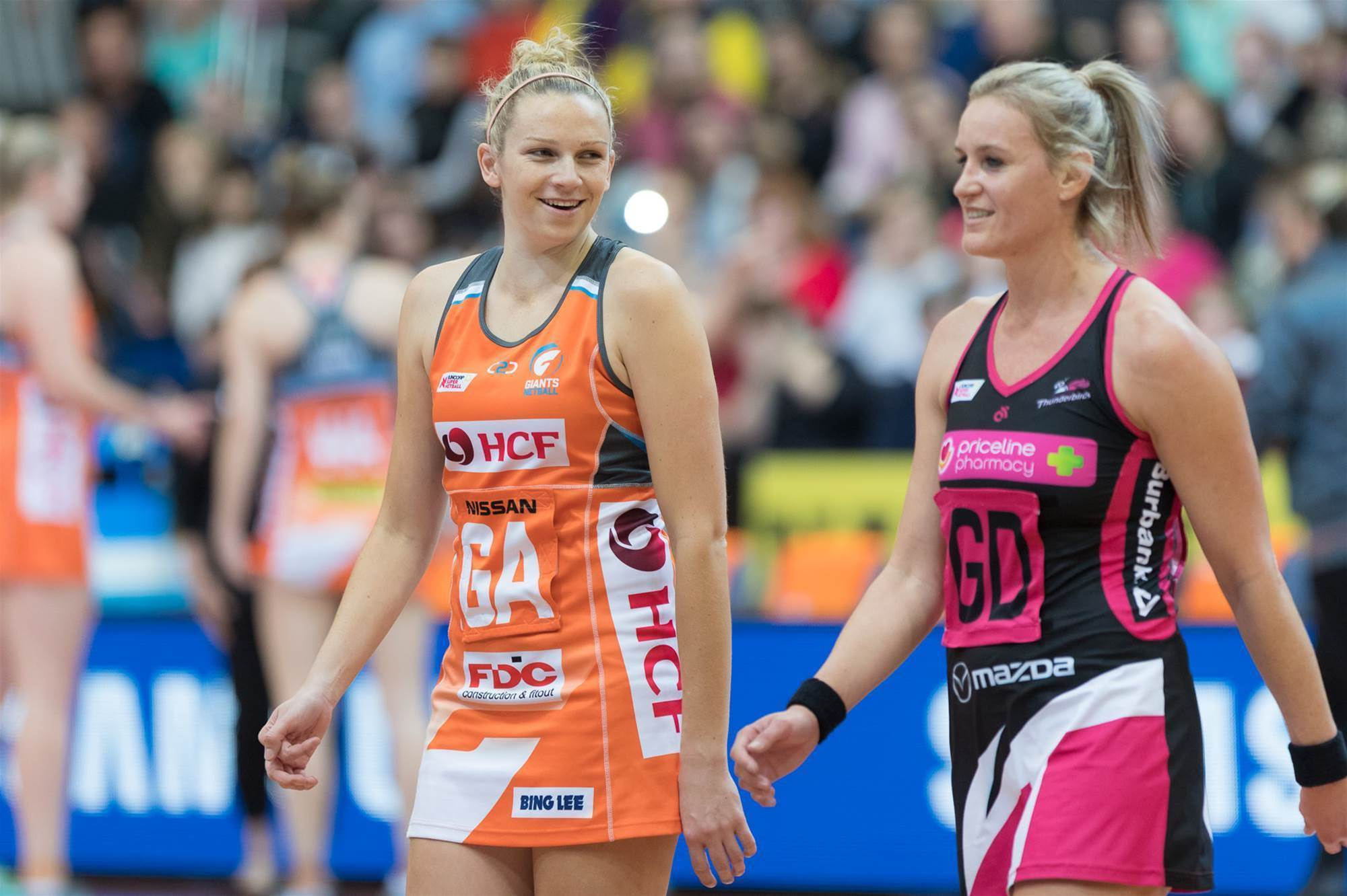 Through the lens: Giants v Thunderbirds