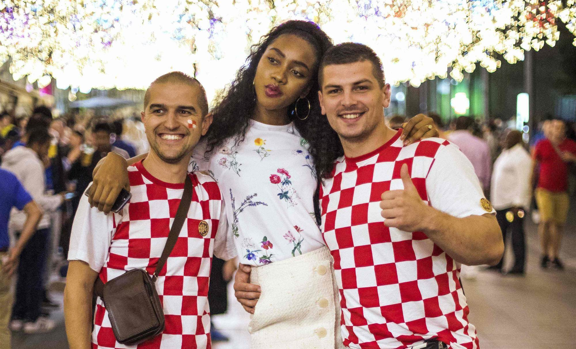 Pic special: Fans flock to Moscow for World Cup final