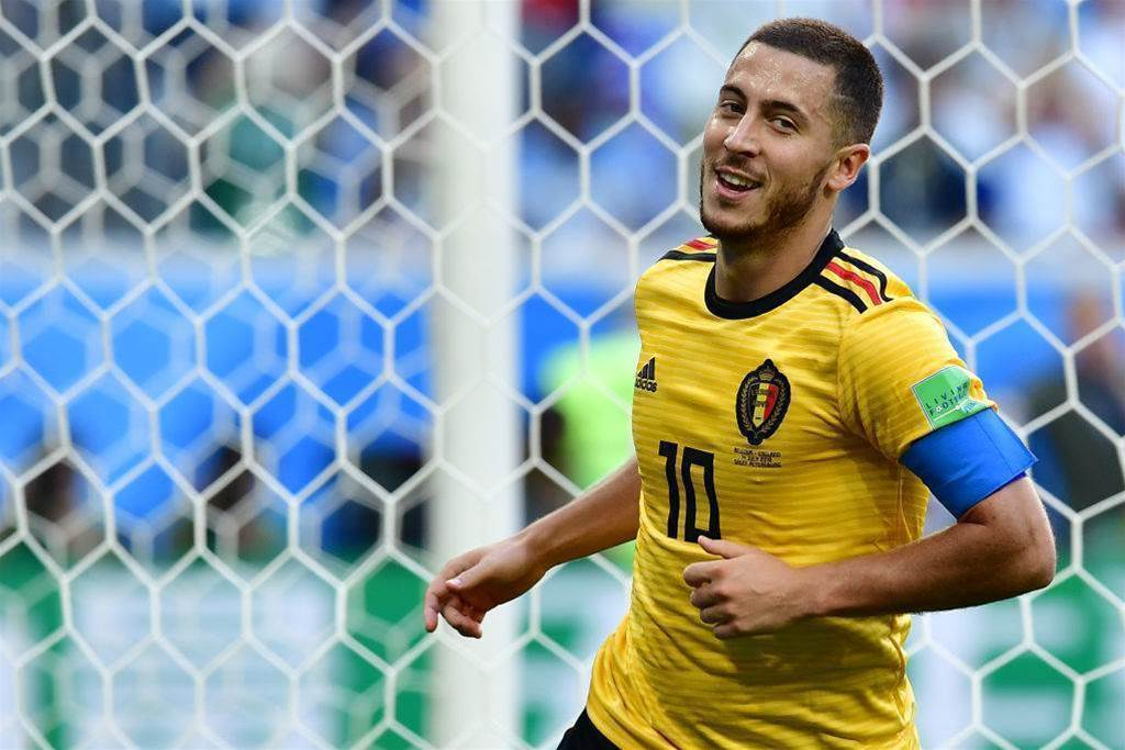 Pic special: Meunier and Hazard on target as Belgium finish third