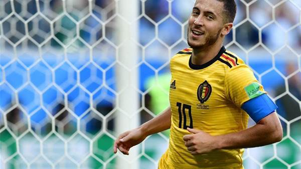 Pic special: Meunier and Hazard on target as Belgium finish third