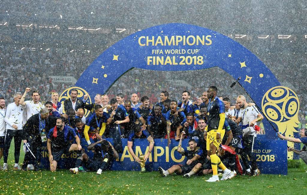 Pic special: France lift the World Cup trophy in Moscow