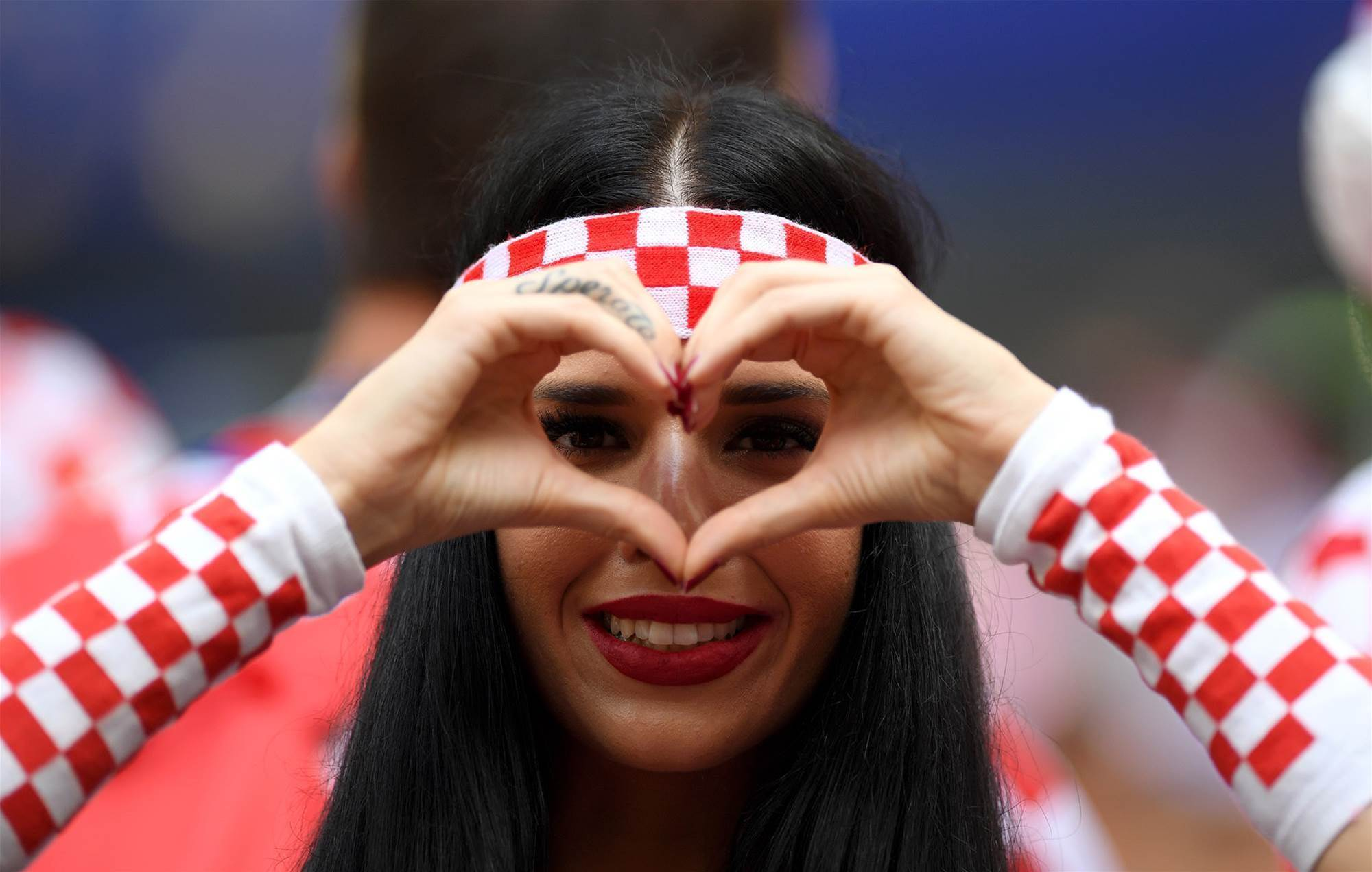 Gallery: Fans swirl for World Cup Final