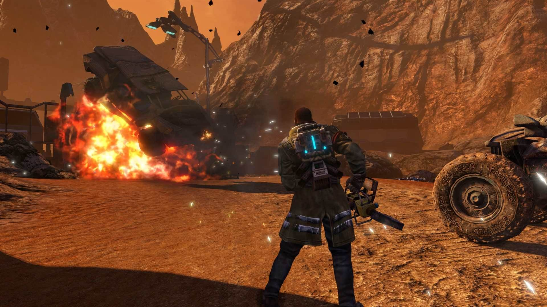 Explosive Red Faction Guerrilla Re-Mars-tered screens