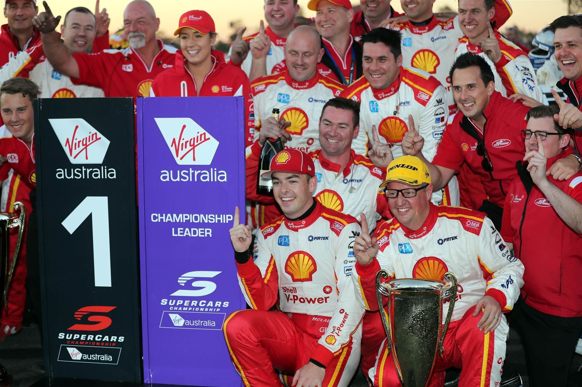 Pic Gallery: Queensland Raceway Supercars