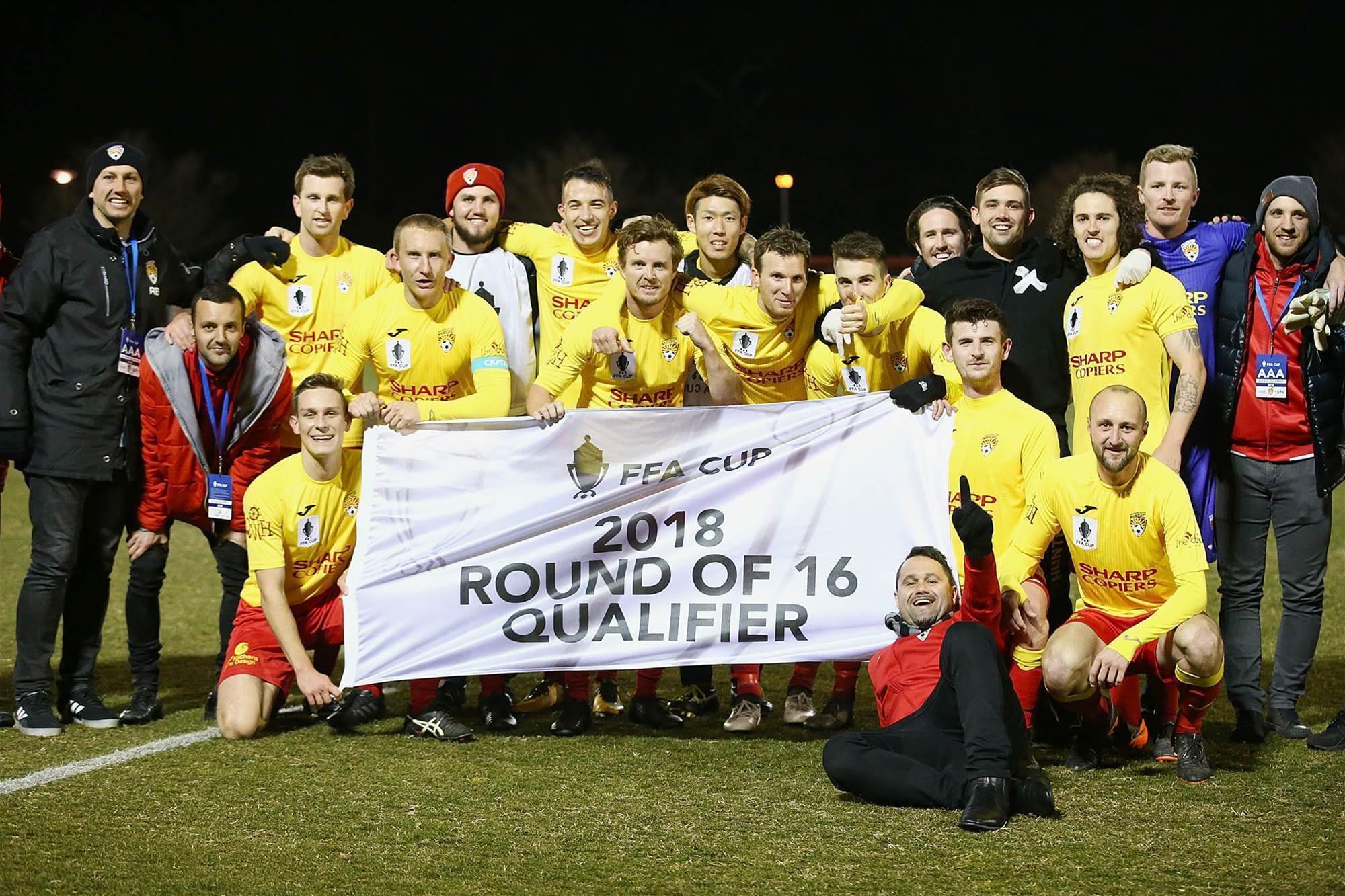 Scuffles, goals & glory: FFA Cup gallery