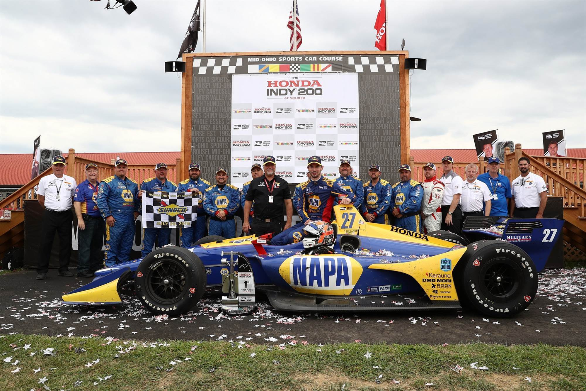 Pic Gallery: Mid Ohio Indycars