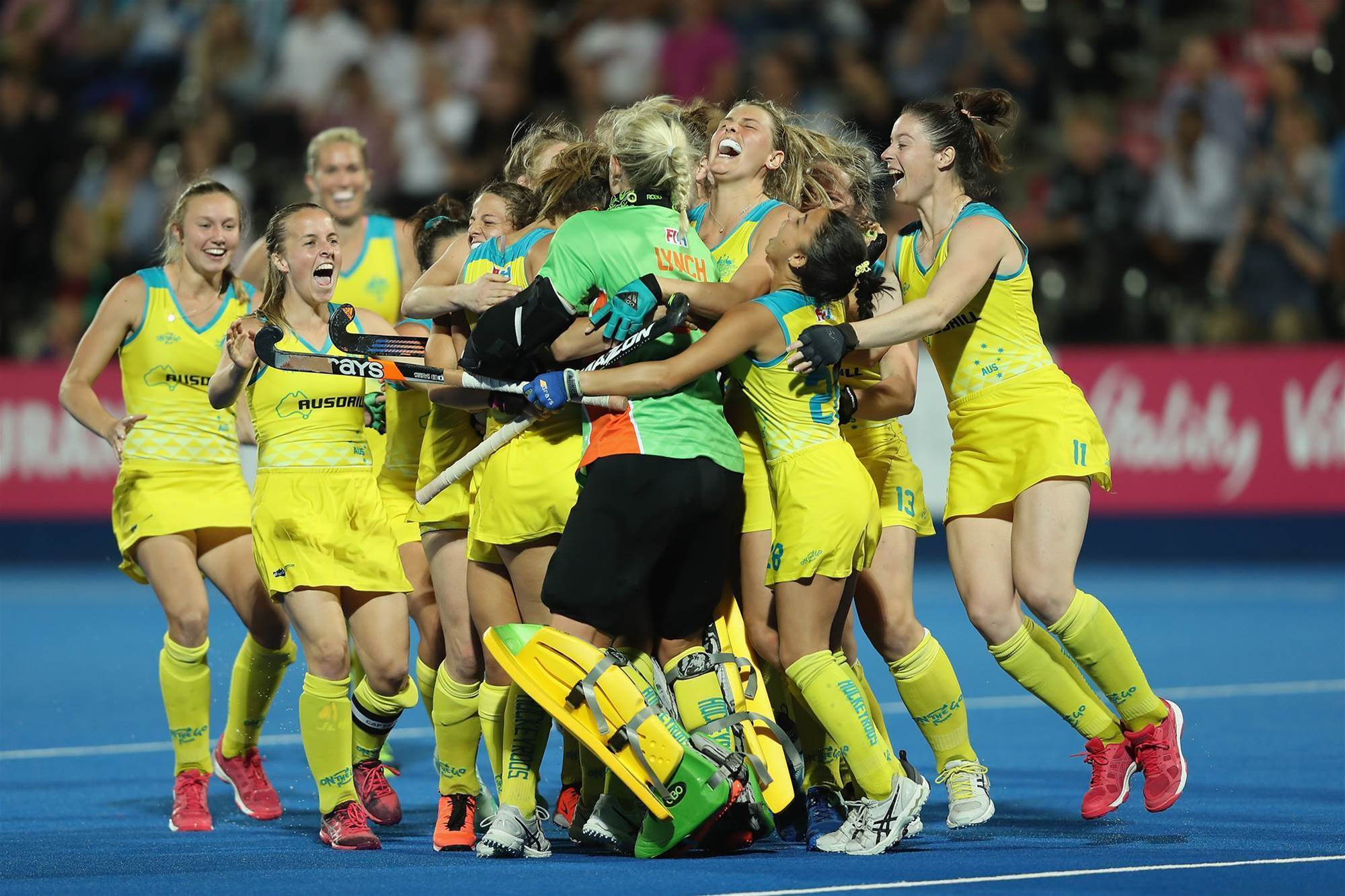 Pic Special: Hockeyroos victory over Argentina