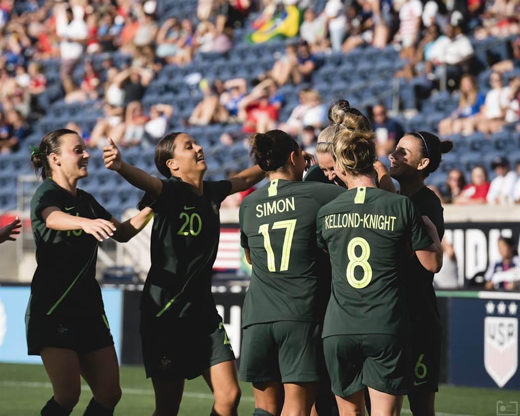 Pic Special: Matildas v Japan ToN
