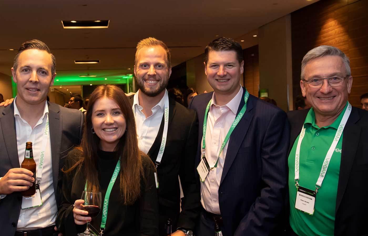 Veeam's Aussie partners catch up in Sydney