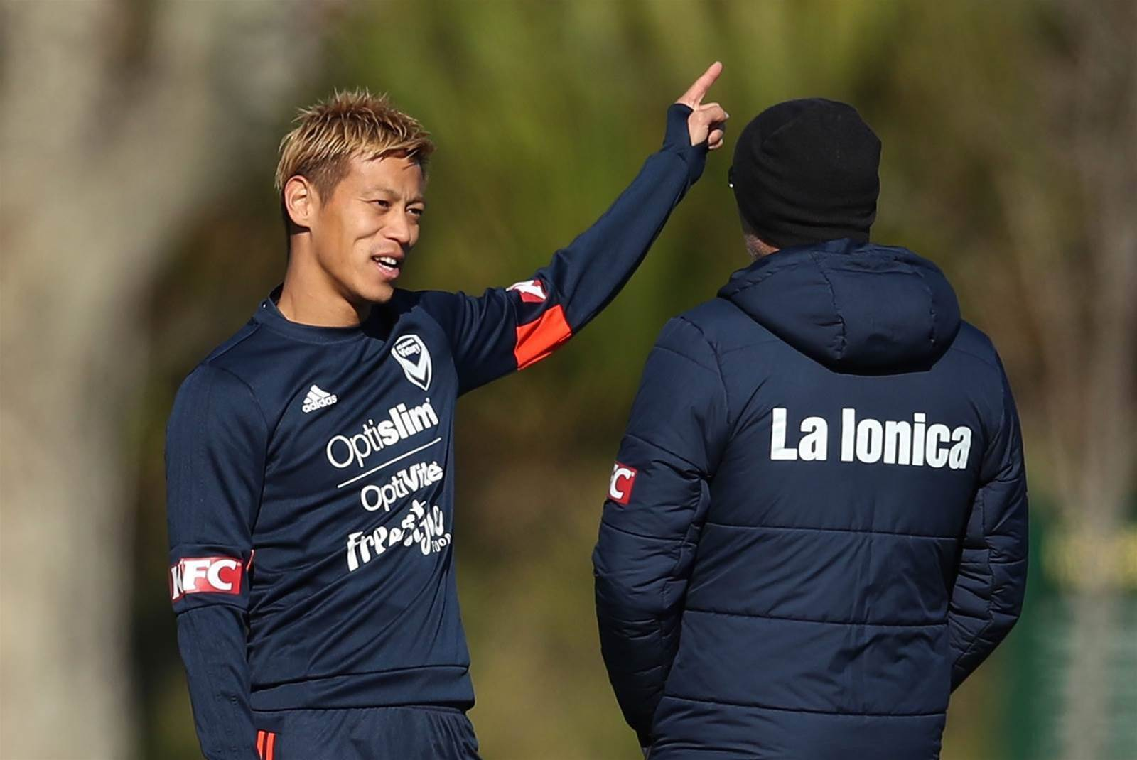 Pic Special: Keisuke Honda meets fans as he starts training at Melbourne Victory