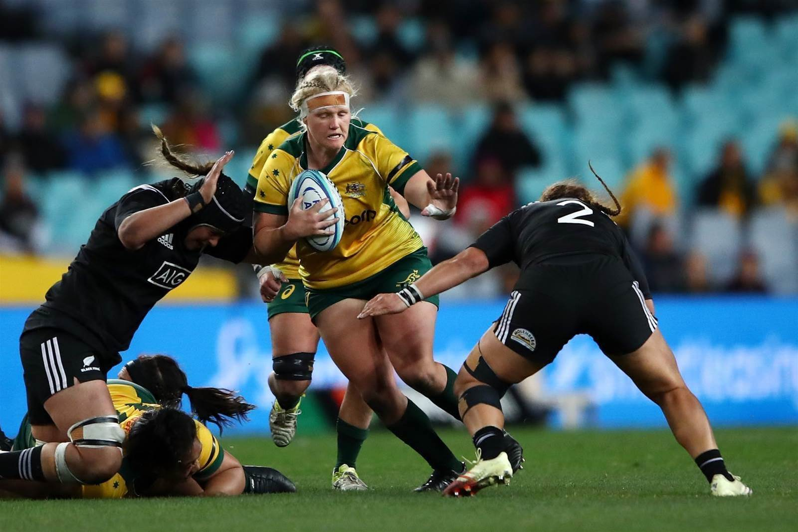 IN PICS: Wallaroos vs Black Ferns