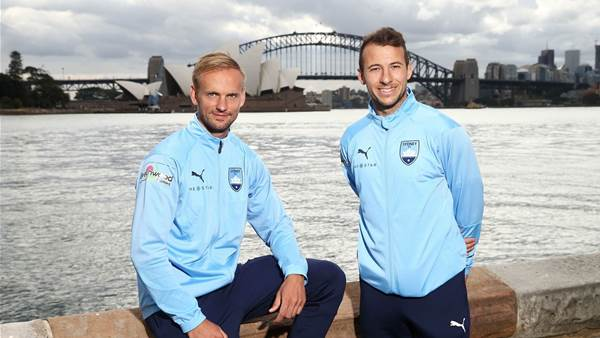 Pics: Sydney FC's foreign signings unveiled