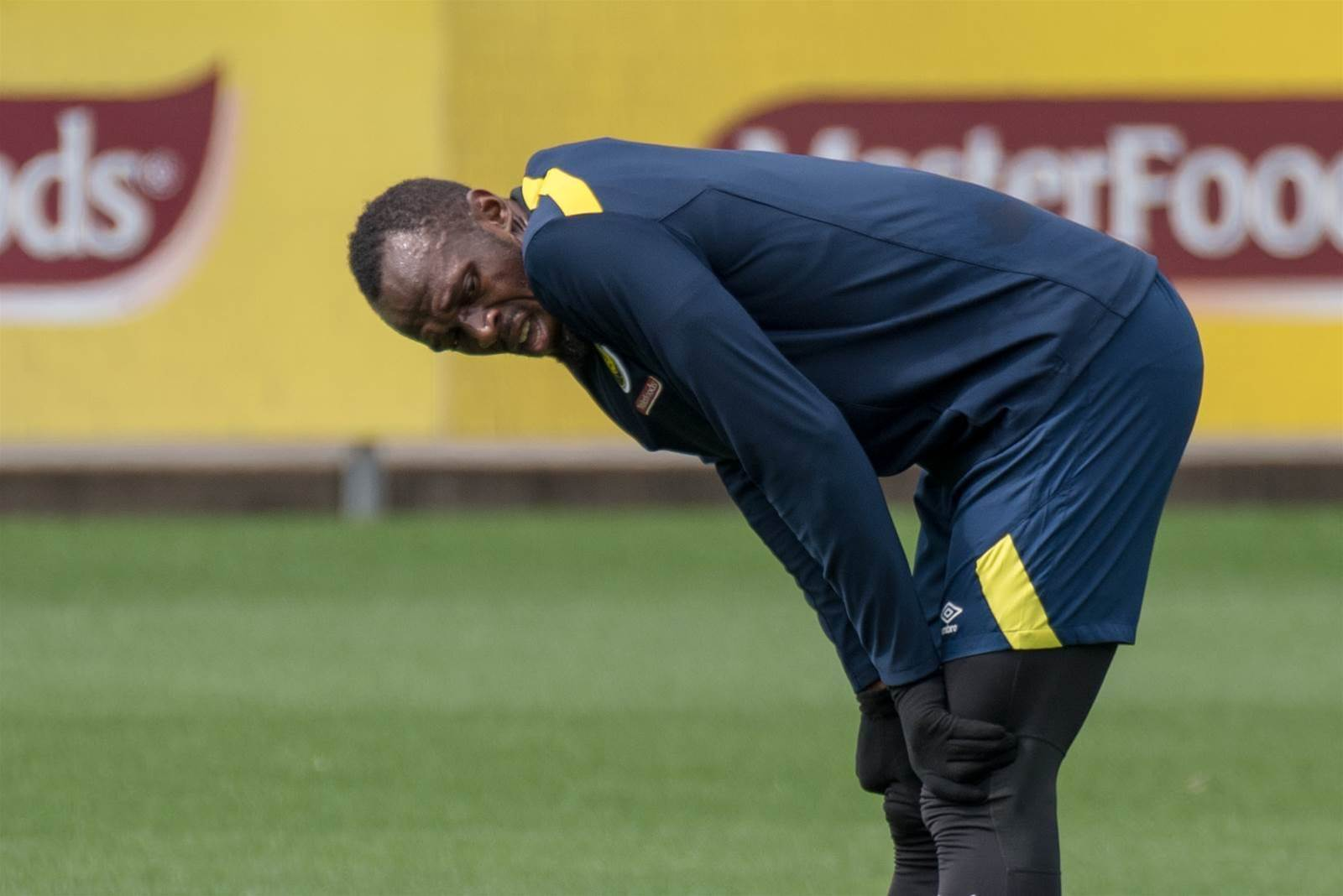 ON THE SIDELINES: The ULTIMATE epic Usain Bolt training pic gallery