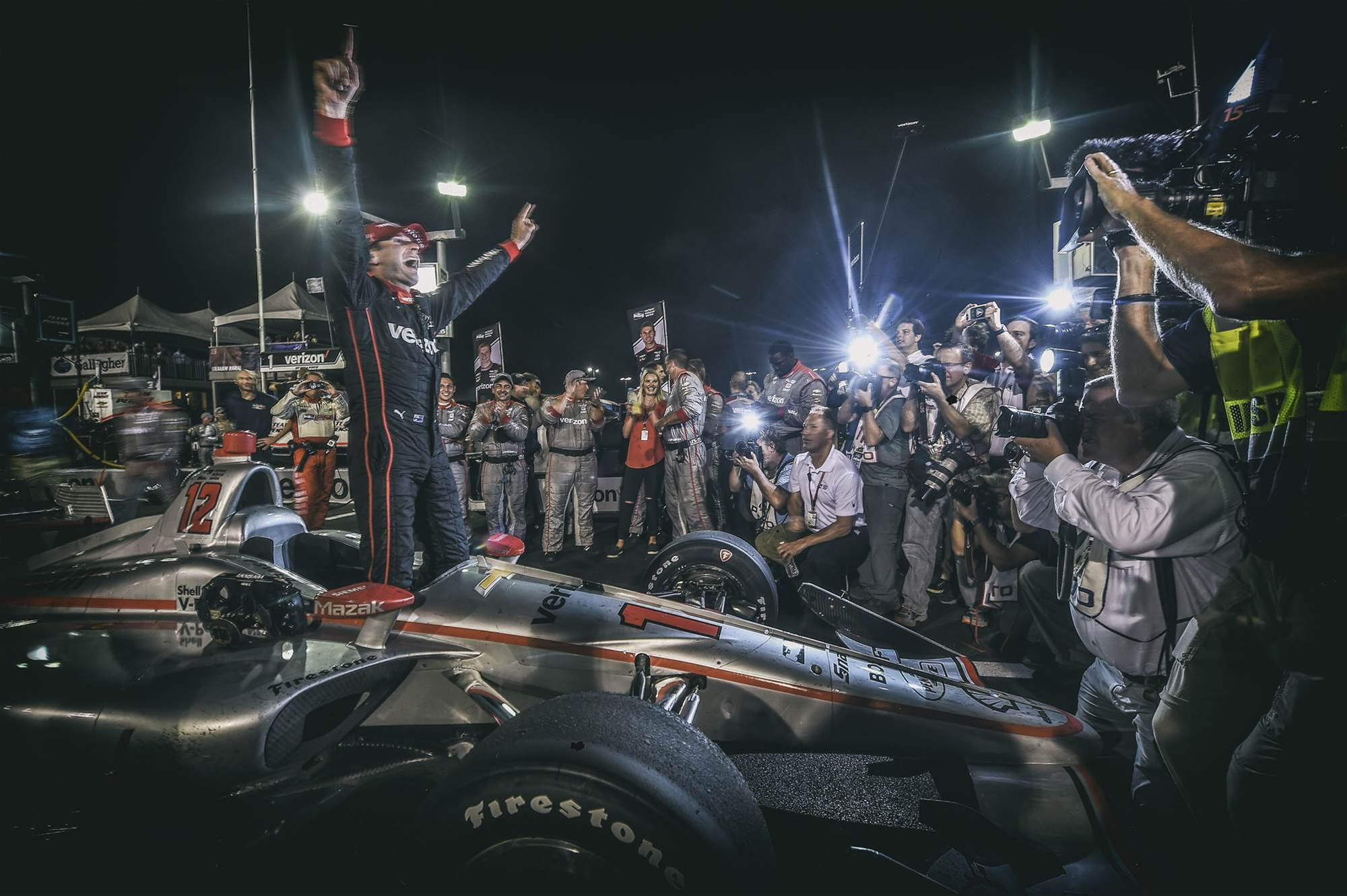 Will Power scores at Gateway Indy